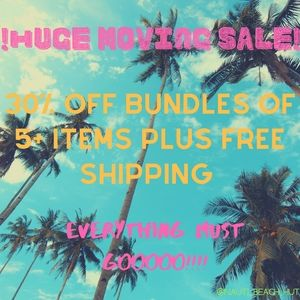 👉 30% OFF 5+ ITEMS W/ FREE SHIPPING!